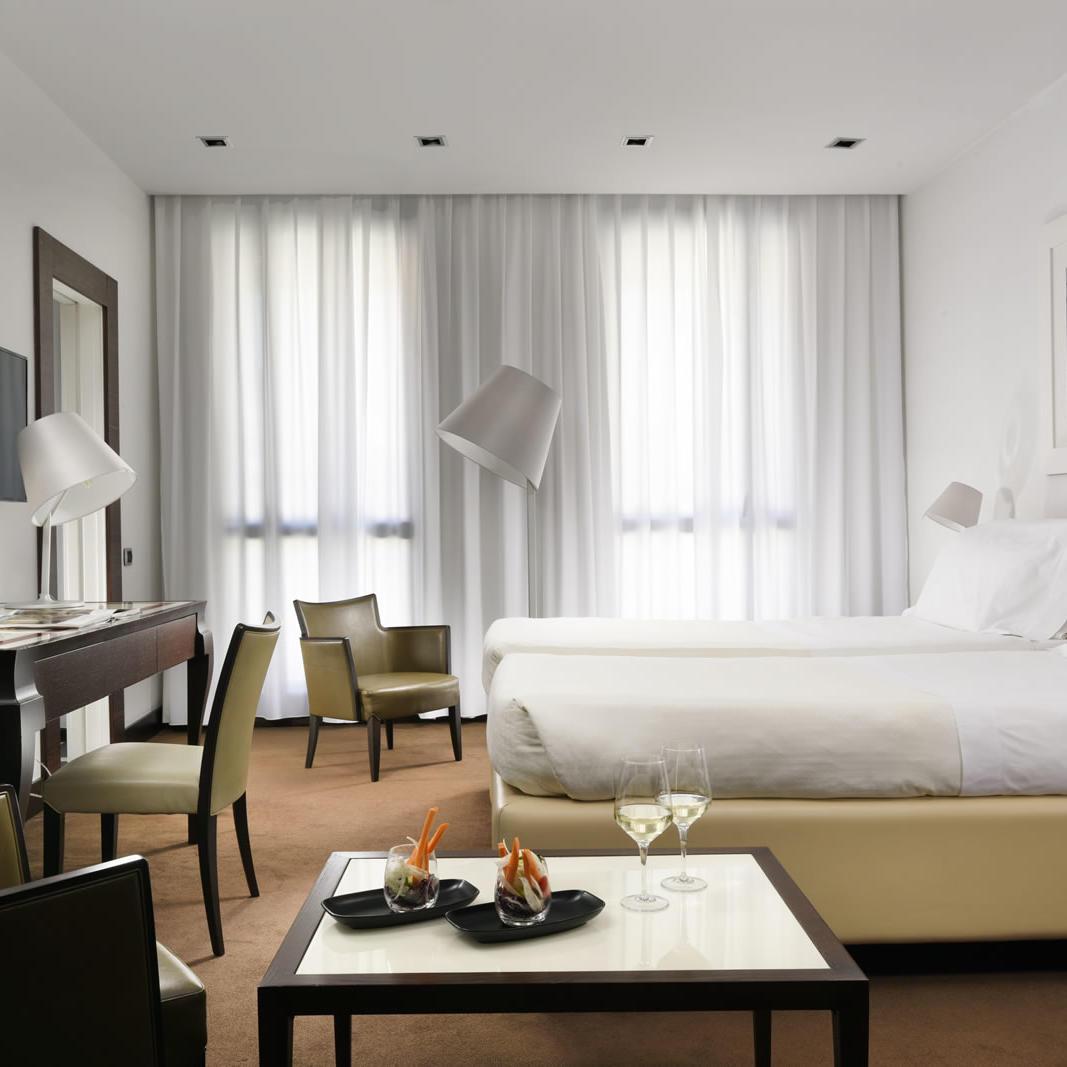 Executive Twin Room | UNAHOTELS Cusani Milano