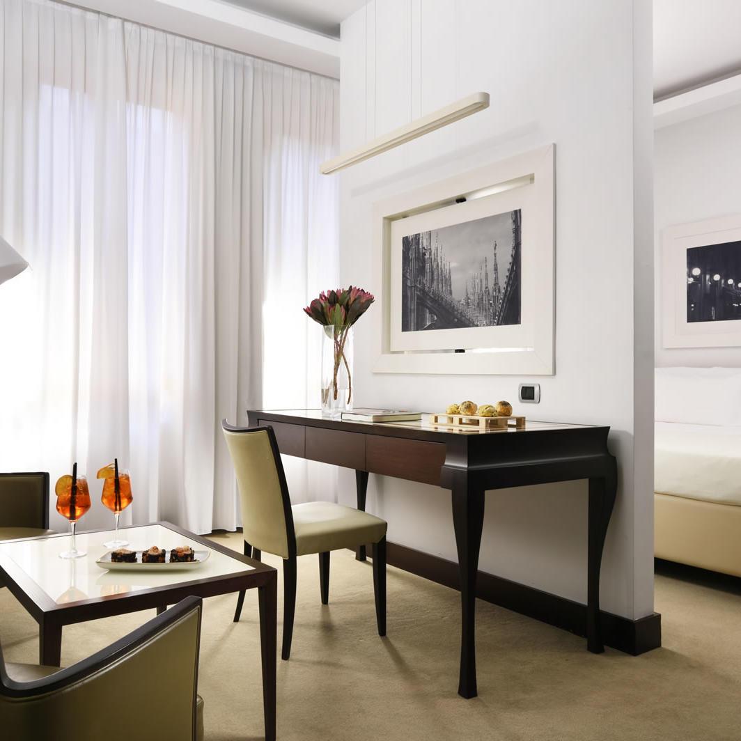 Junior Suite Double | UNAHOTELS Cusani Milano