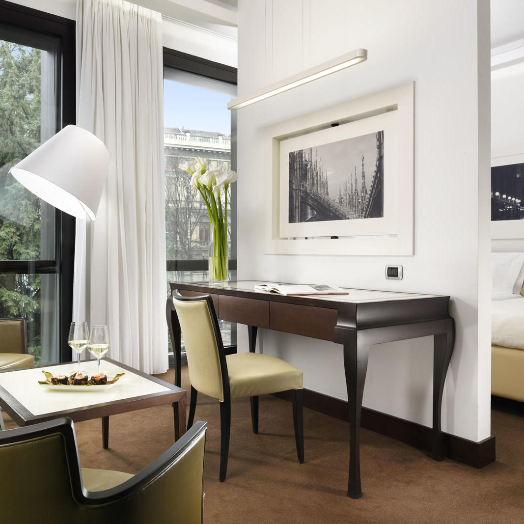 Junior Suite Twin | UNAHOTELS Cusani Milano