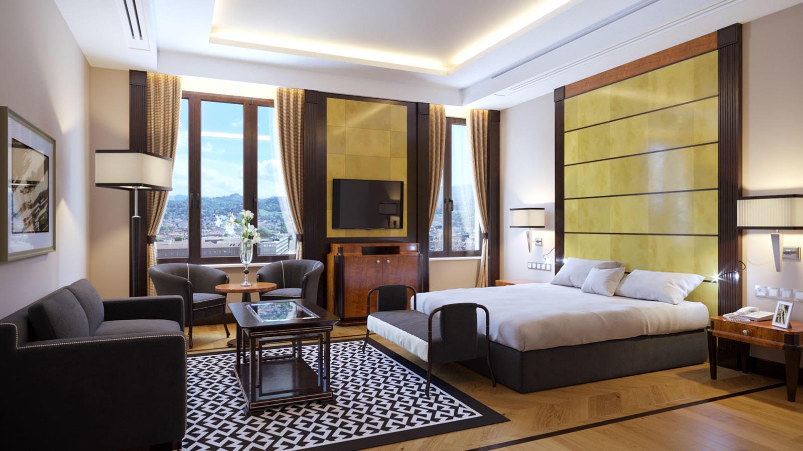 Junior Suite with View | Principi Di Piemonte
