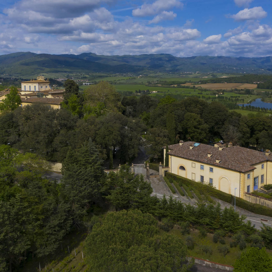 Panoramic View | Villa Le Maschere