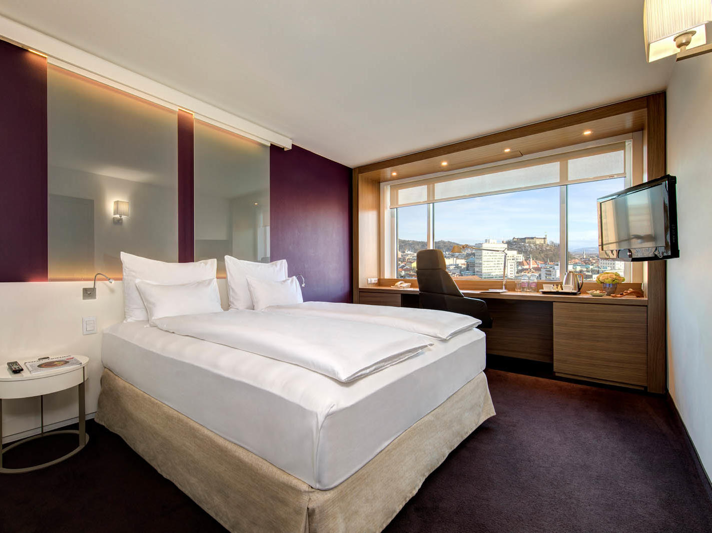 Executive Double room with Castle view