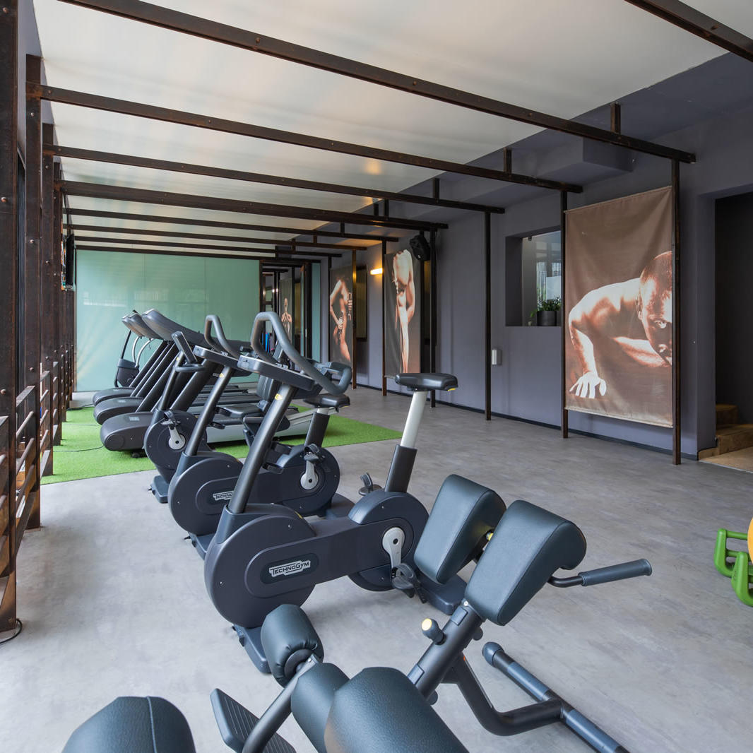 Gym | UNAHOTELS One Siracusa