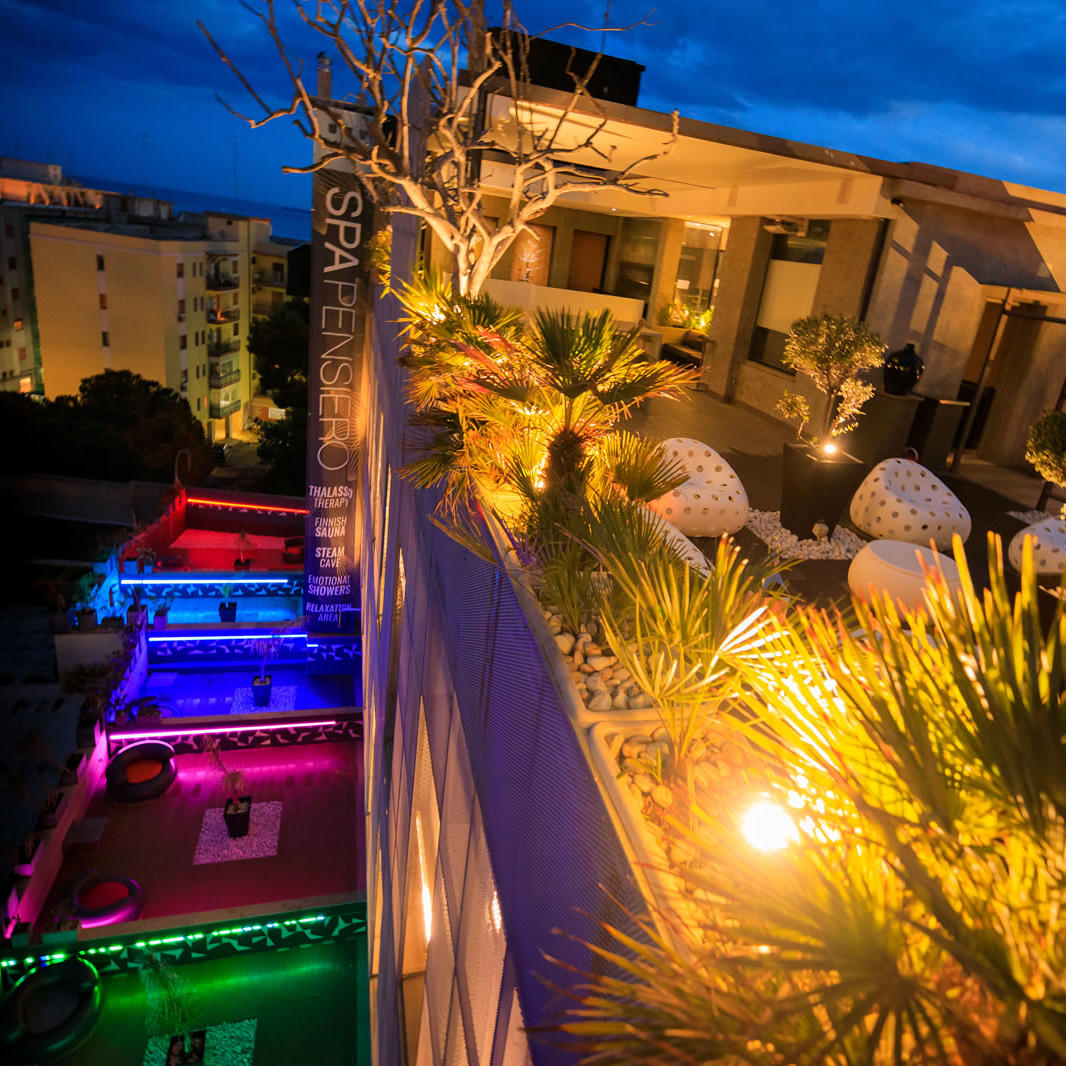 Sky Roof view | UNAHOTELS One Siracusa