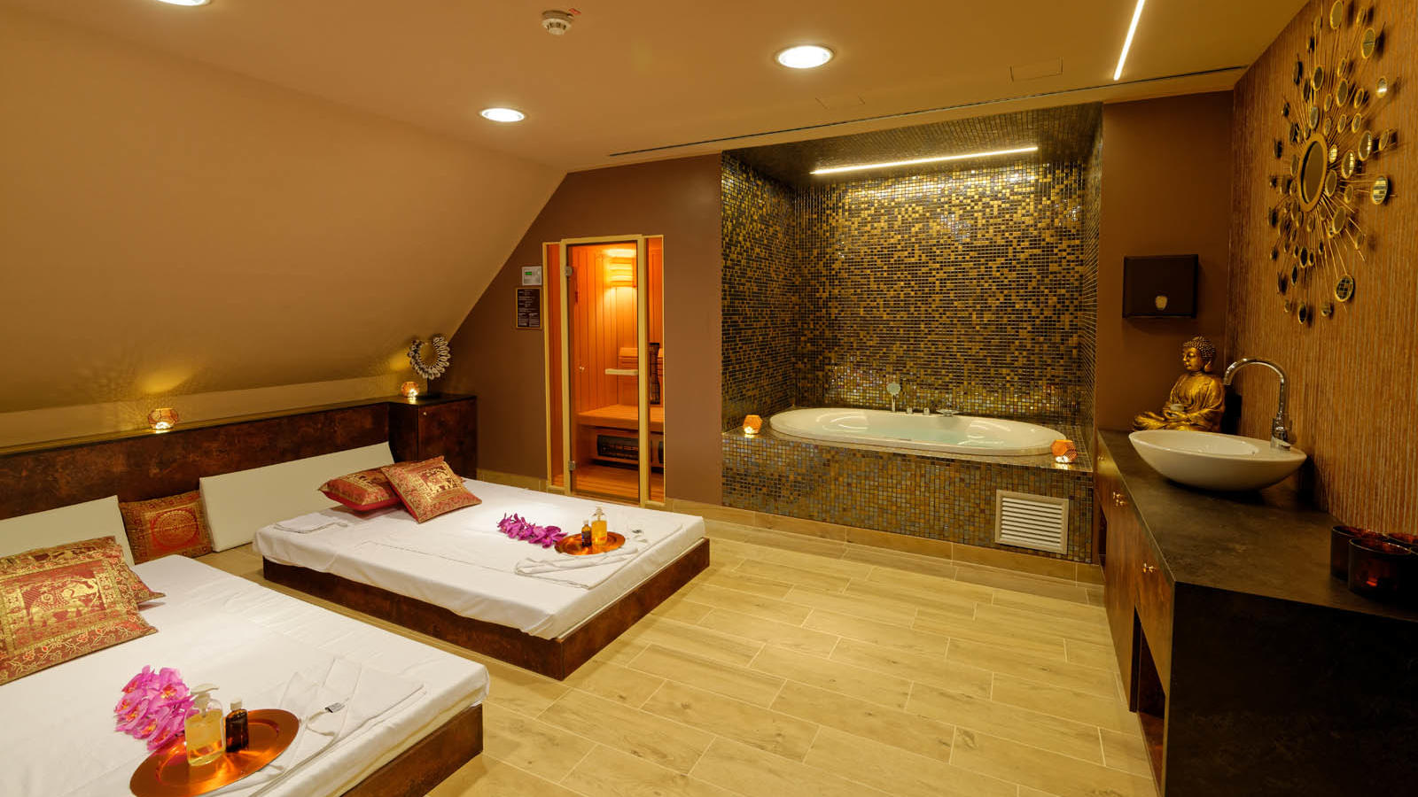 wellness vip room, massage