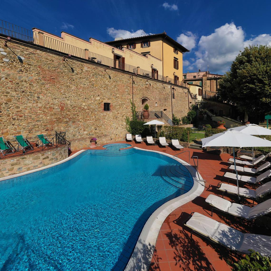 Pool | Palazzo Mannaioni Toscana