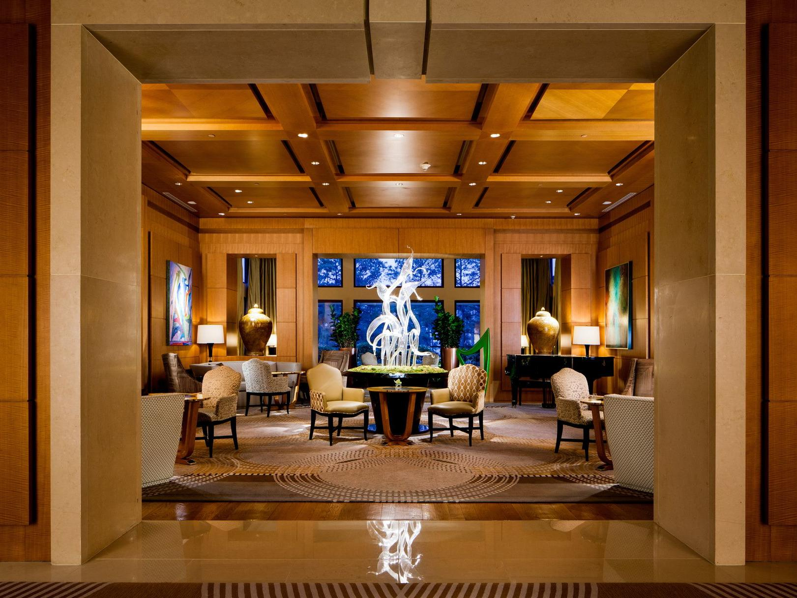 lobby of hotel lounge