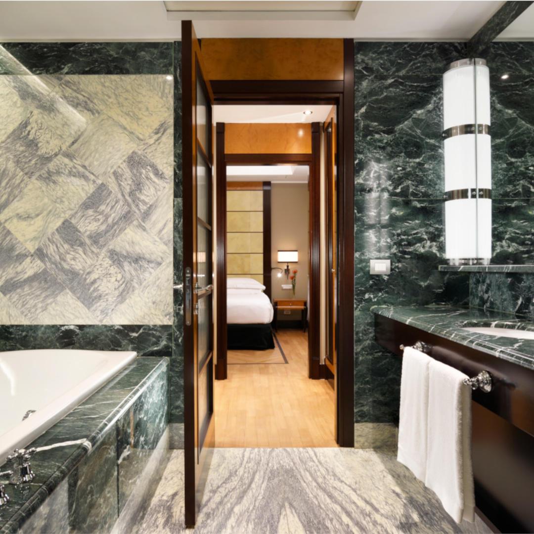 Diplomatic Suite Bathroom   Principi di piemonte