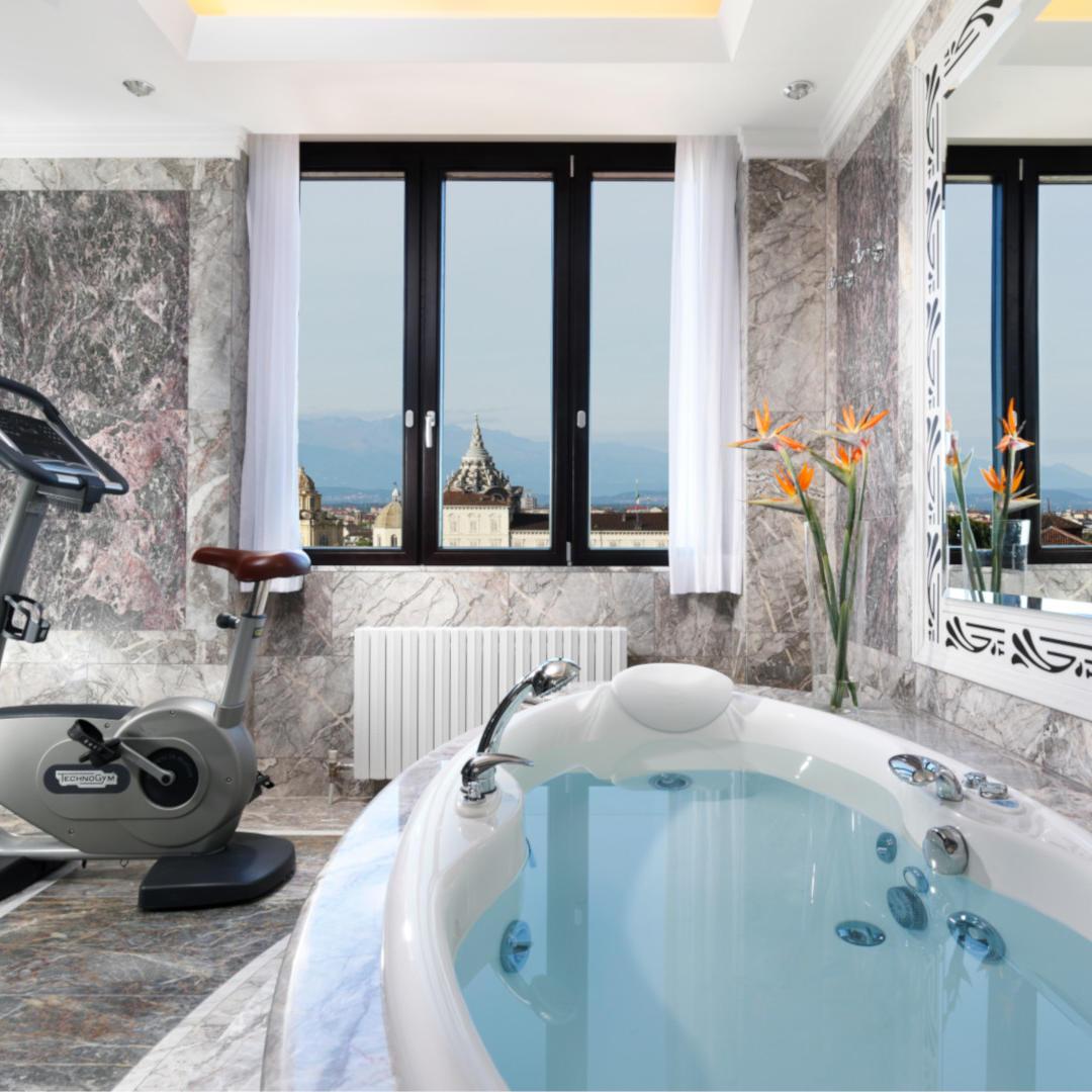 Presidential Suite Bathroom | Principi di Piemonte