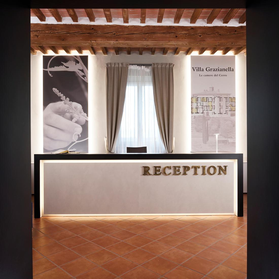 Reception   Relais Villa Grazianella