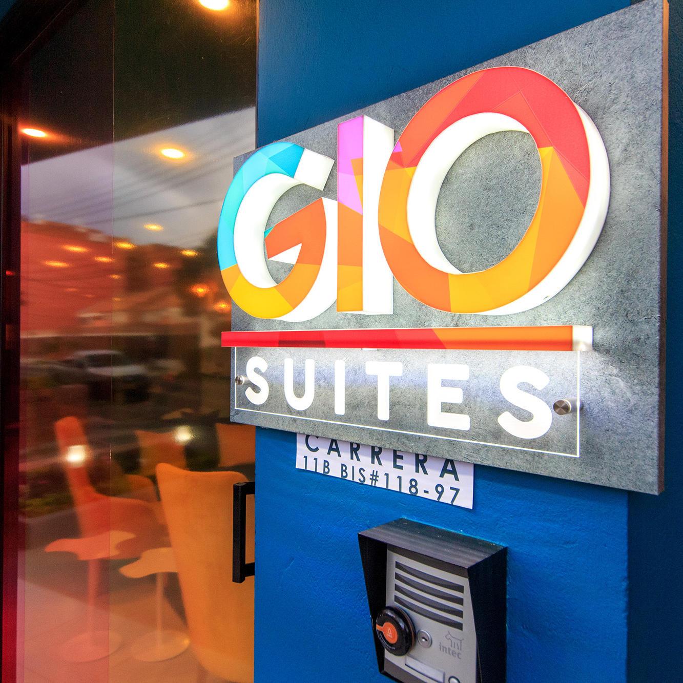 Fachada GIO Suites