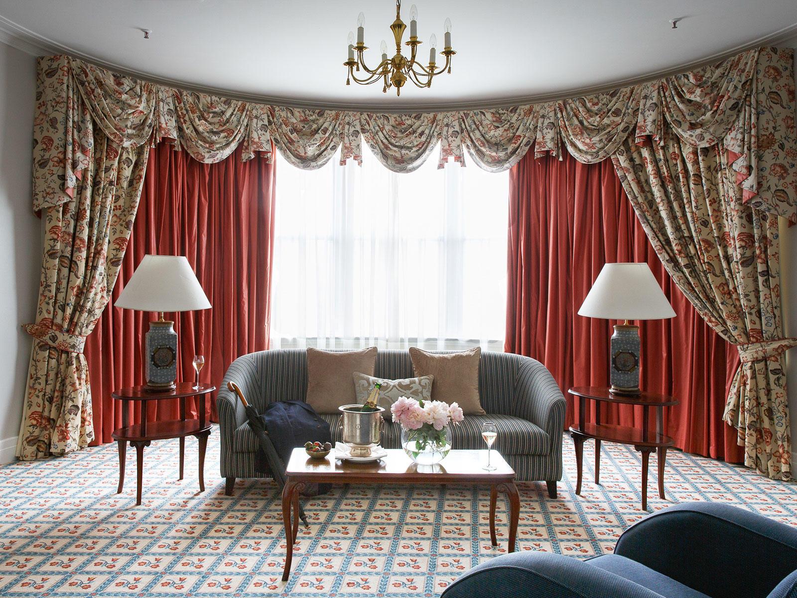 Windsor Suite Living Room at The Hotel Windsor Melbourne