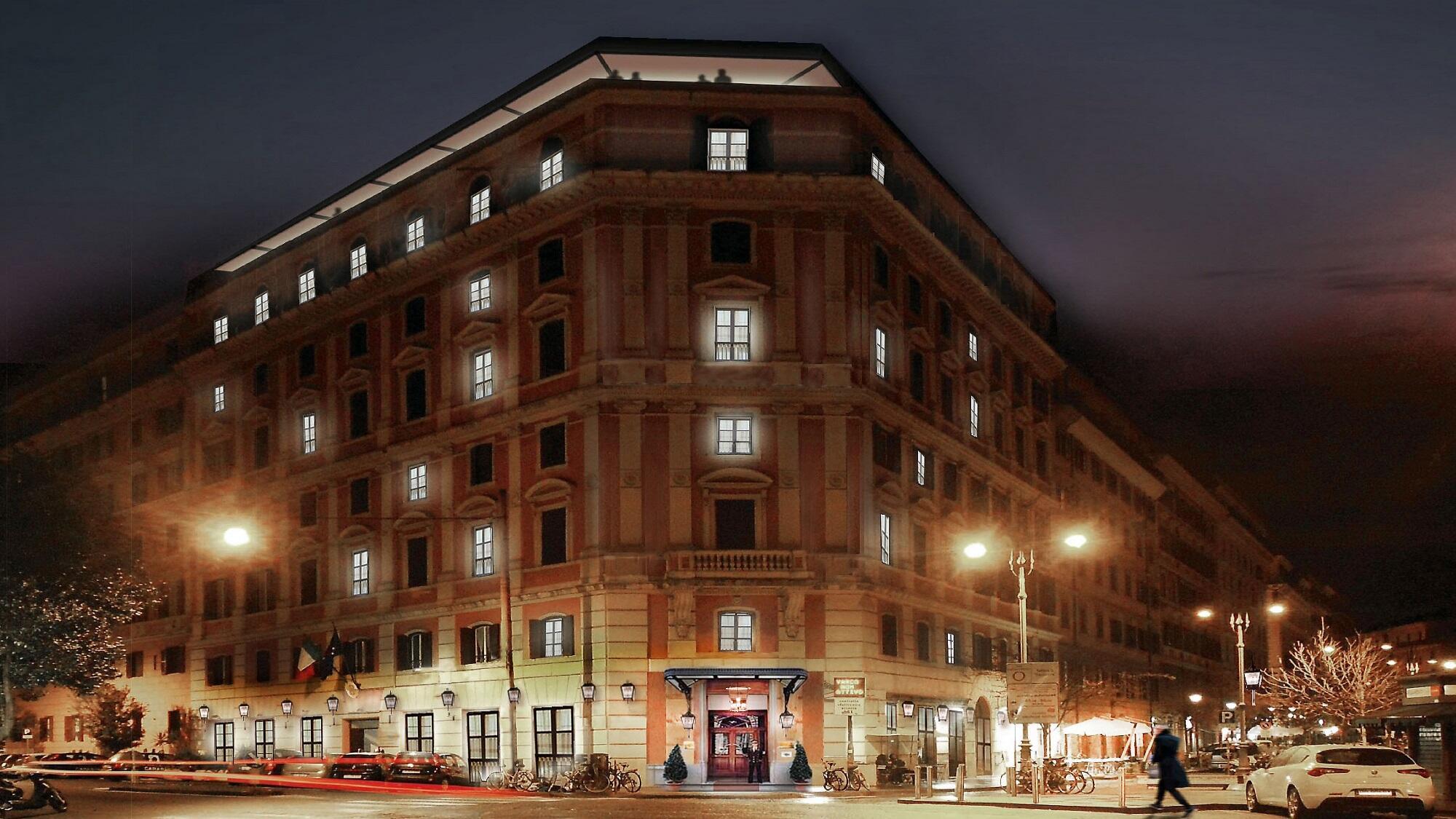 Hotel Trastevere Rome exterior view