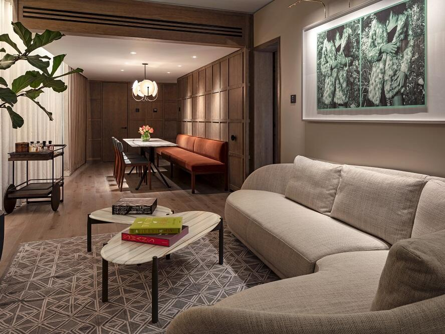 The Londoner Hotel - Capital Suite Lounge