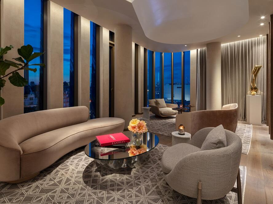 The Londoner Hotel - Tower Penthouse Suite - Lounge