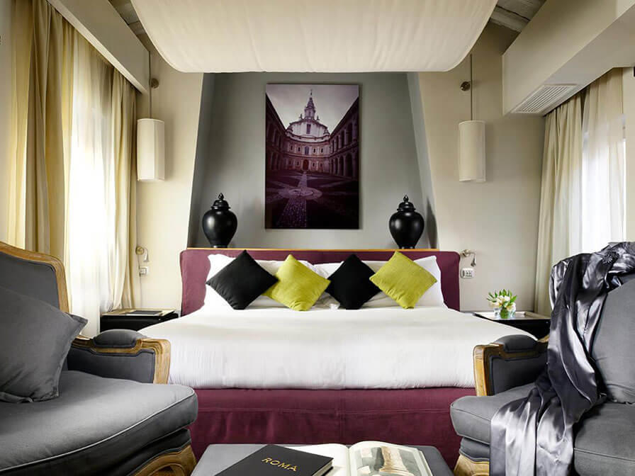 Rome Boutique Hotels Near Spanish Steps Mario De Fiori 37