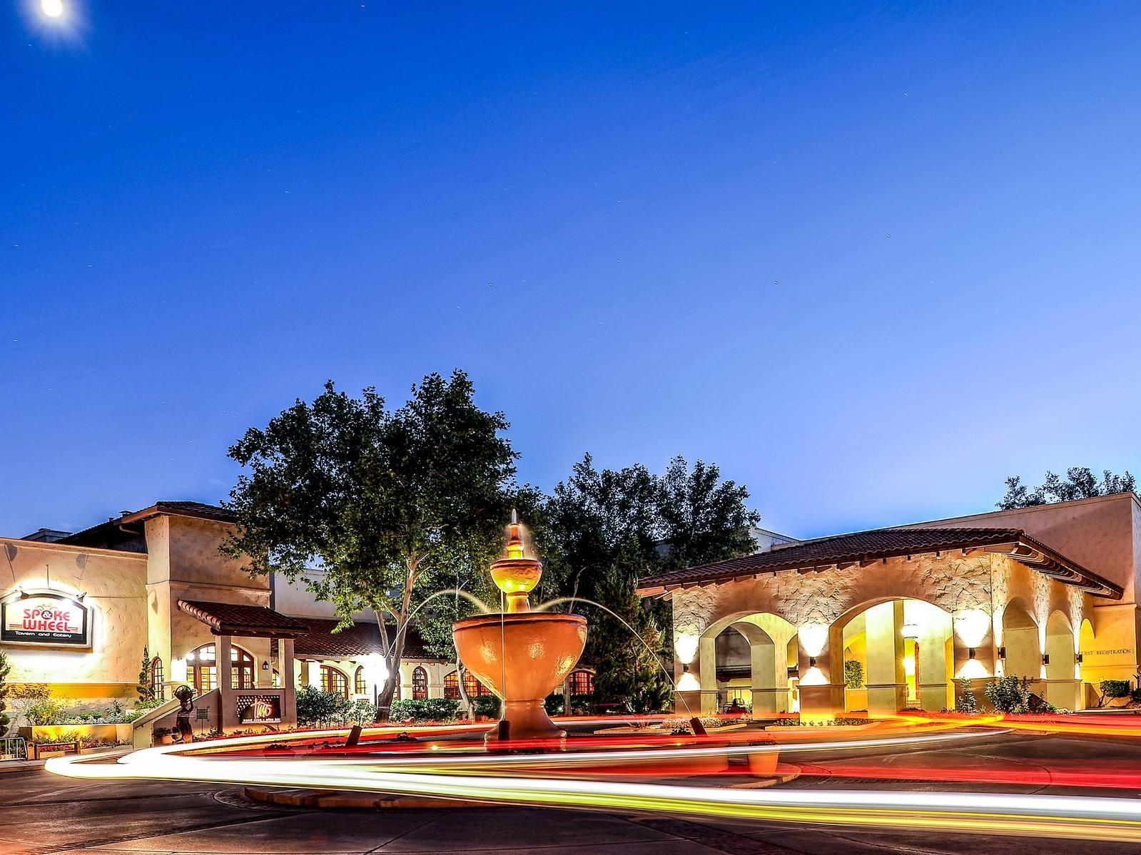 Exterior view of the of Diamond Sedona Portal Hotel's restaurants