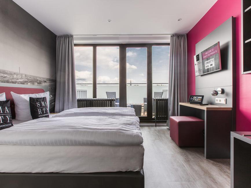 Room at SMARTY Leichlingen-Cologne Hotel