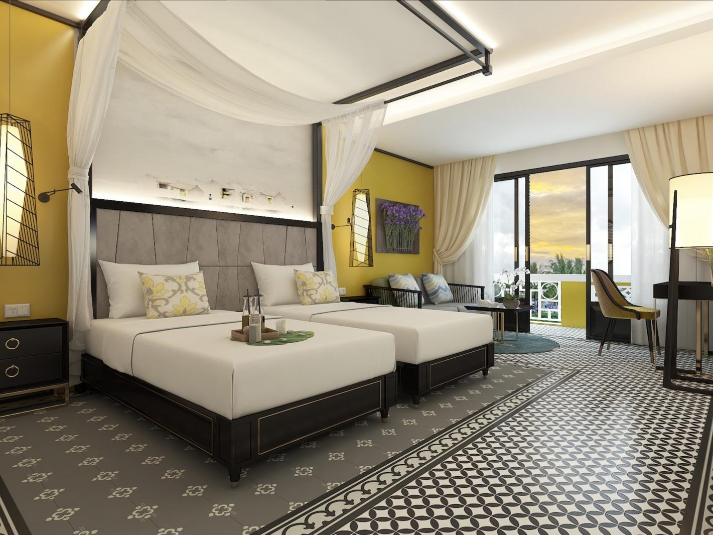 Contemporary Accommodations at U Riverside Hoi An