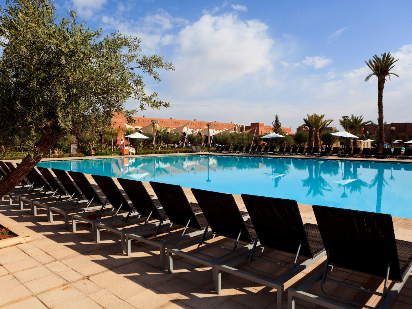 Pool at Kenzi Club Agdal Medina Hotel in Marrakesh, Morocco