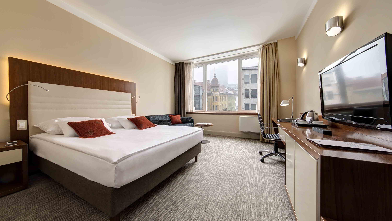 Room at UHotel in Ljubljana