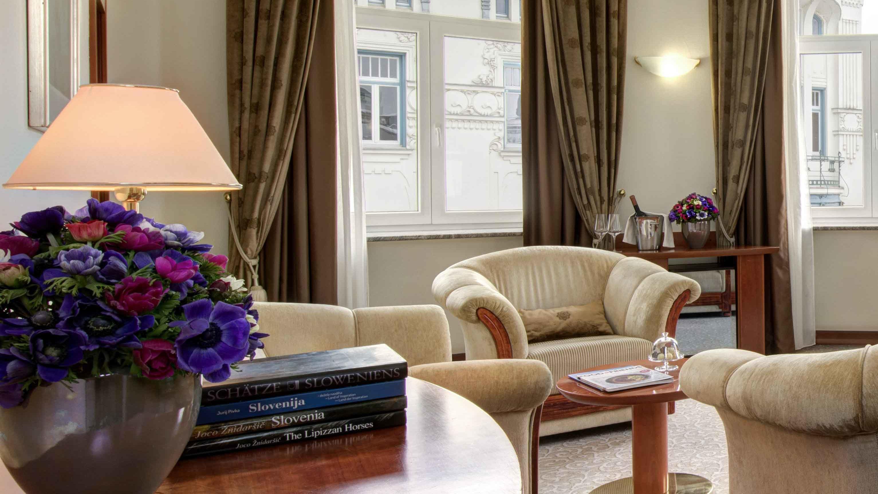 Room at Grand Hotel Union in Ljubljana