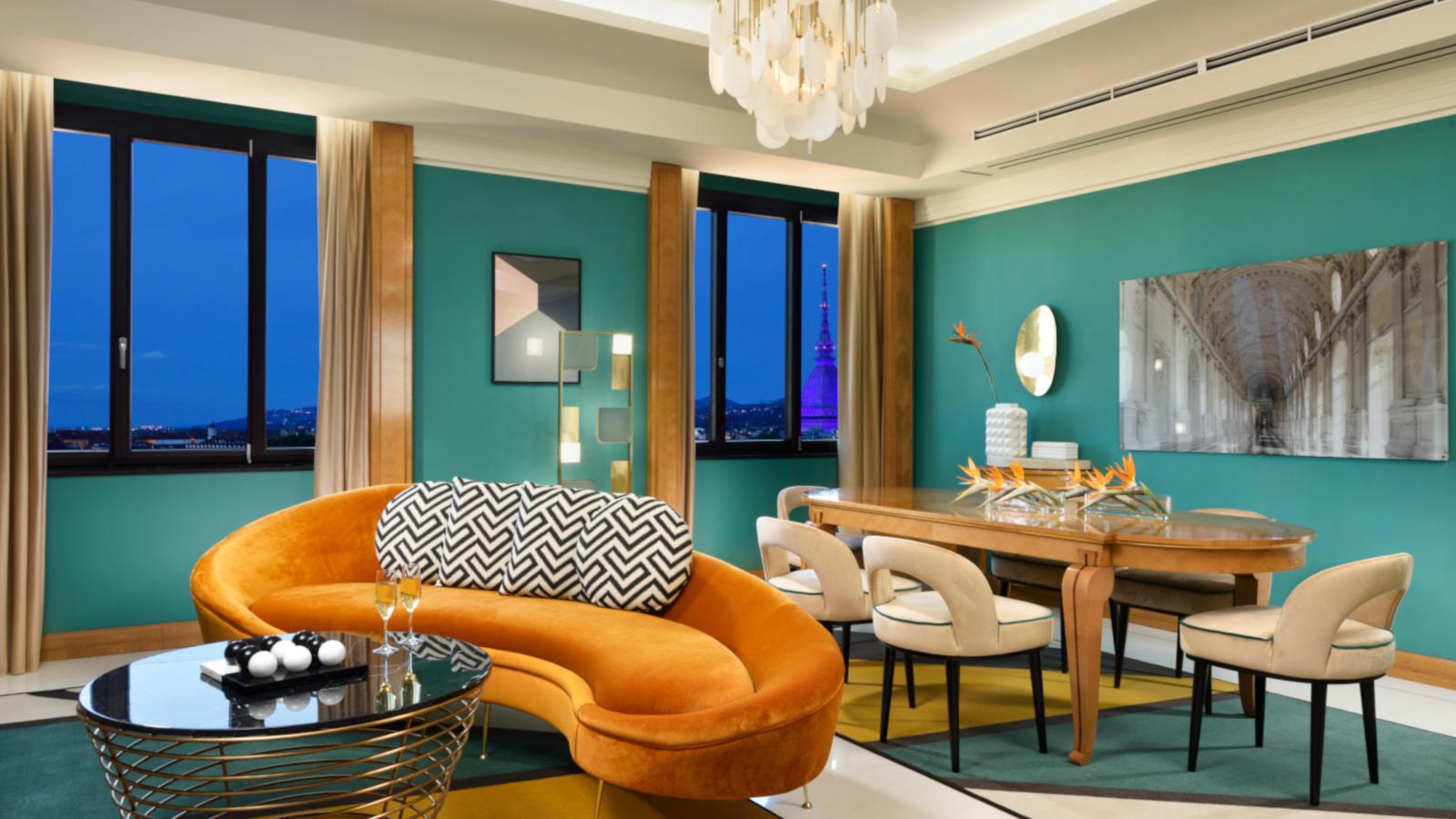 Presidential Suite Living | Principi di Piemonte