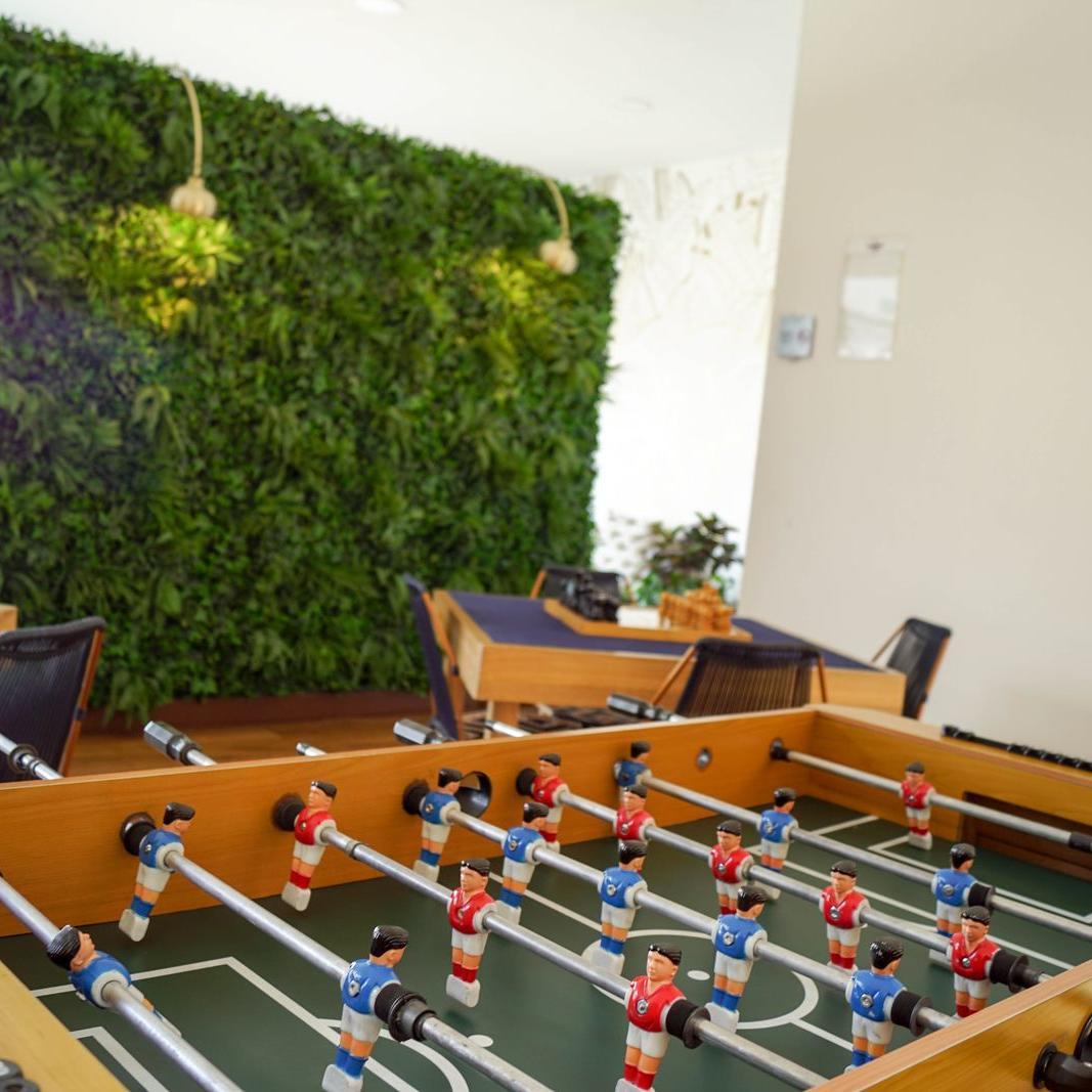 Sala de Juegos Hotel Factory Green