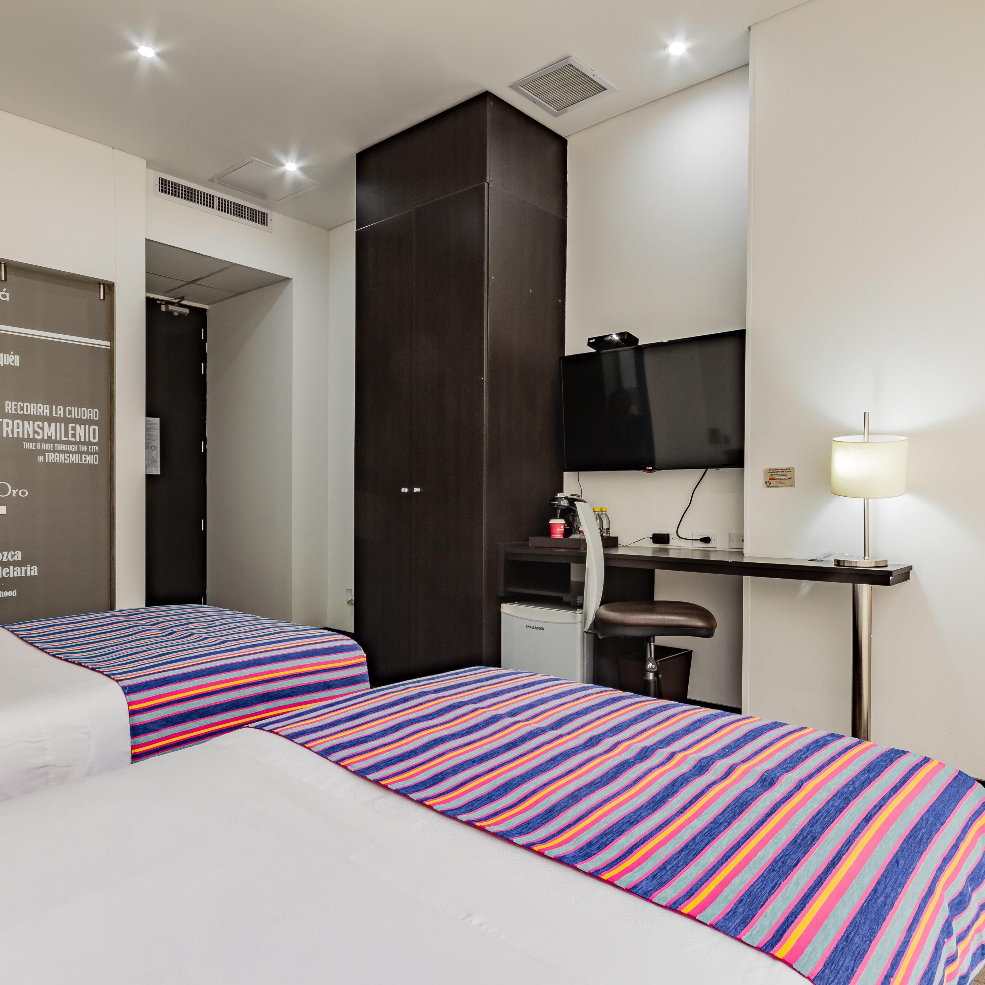Habitación Twin Hotel TRYP Usaquén