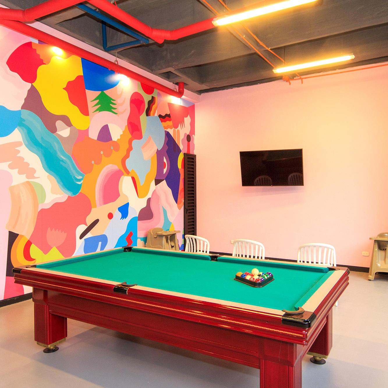 Sala de juegos GIO Suites