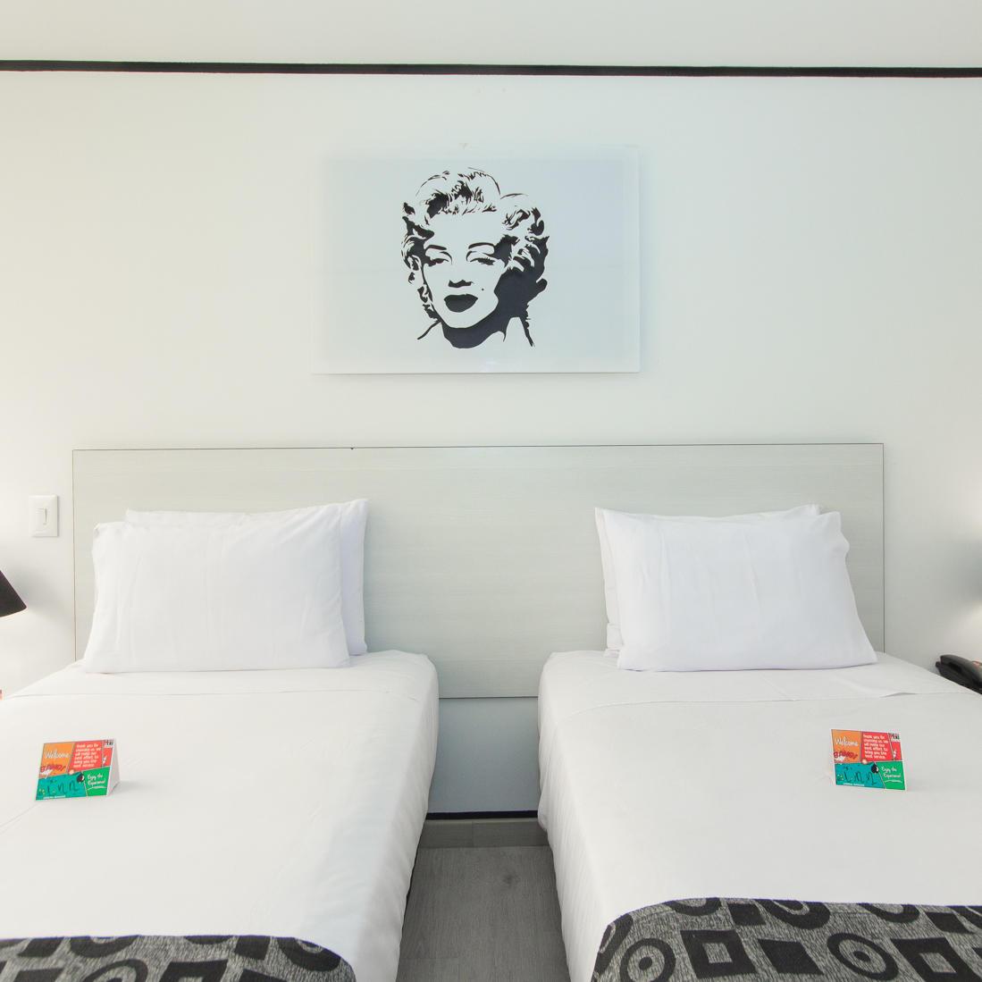 Habitación POP Ejecutiva Hotel POP ART Tocancipá