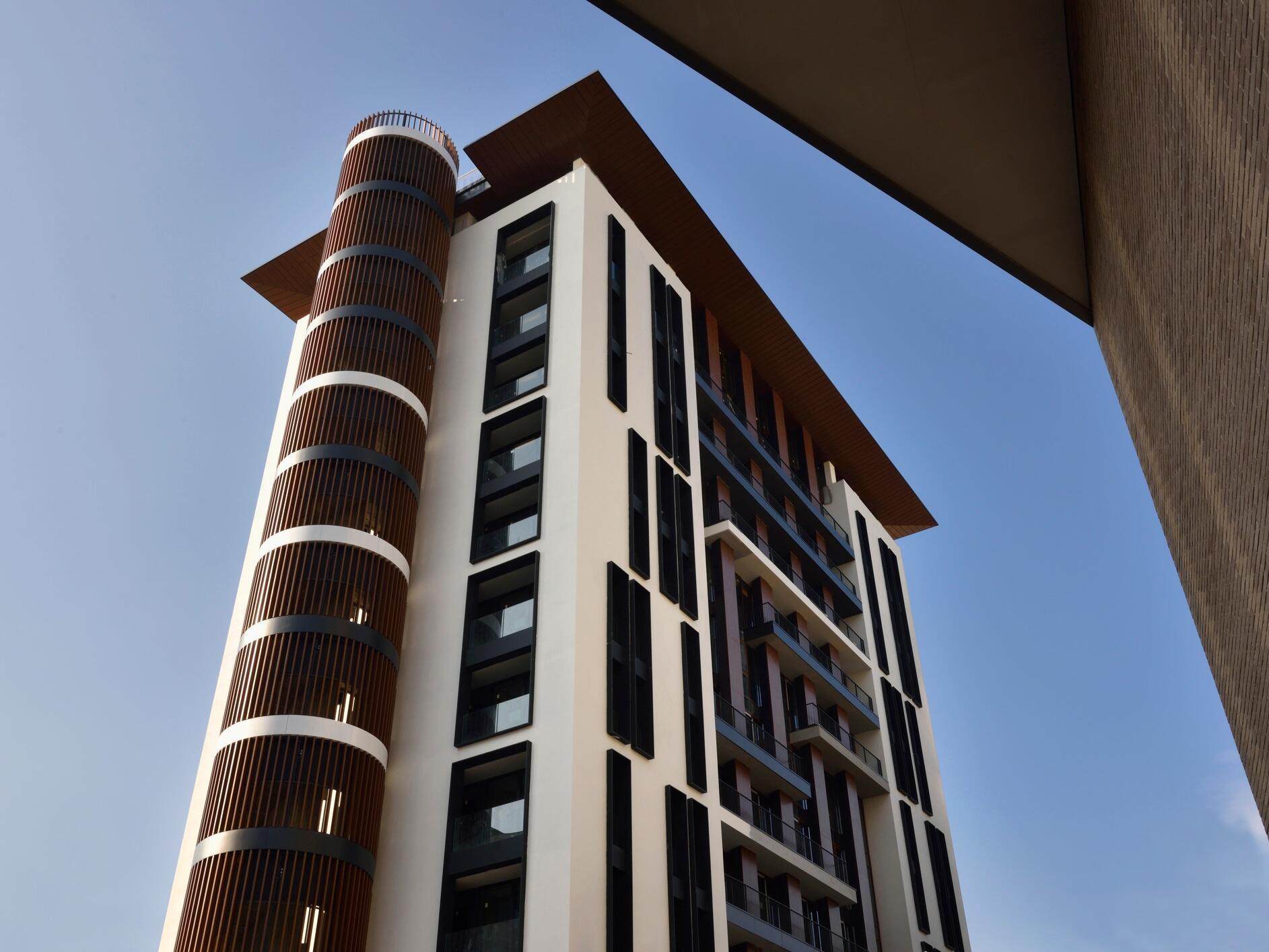 Milano Verticale Hotel Porta Nuova Facade