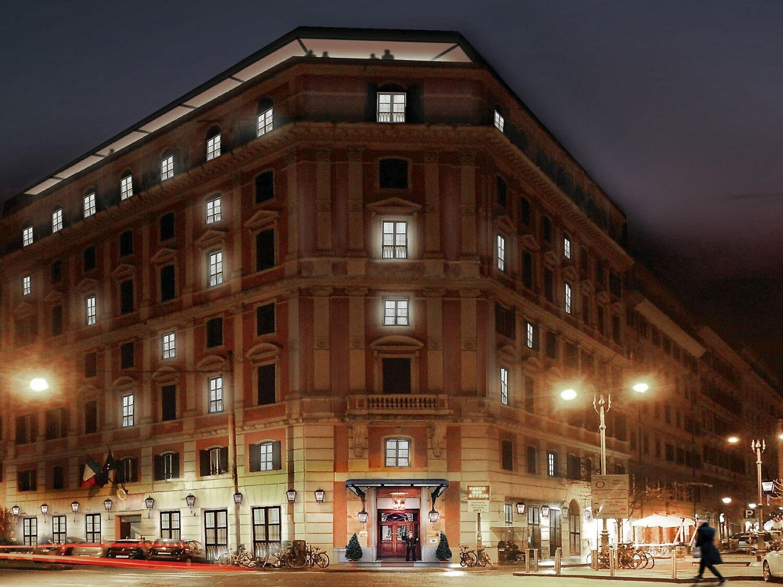 Hotel Roma Trastevere external view