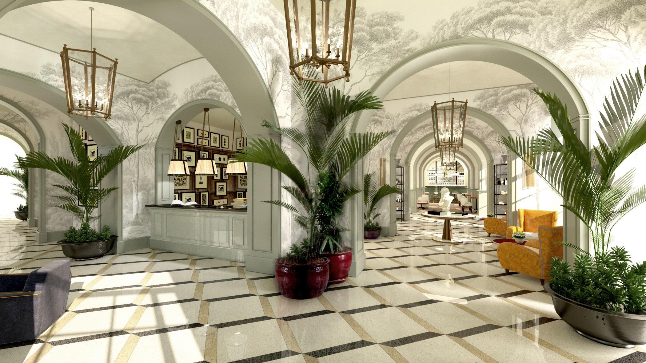 Best Hotel Lobby Rome