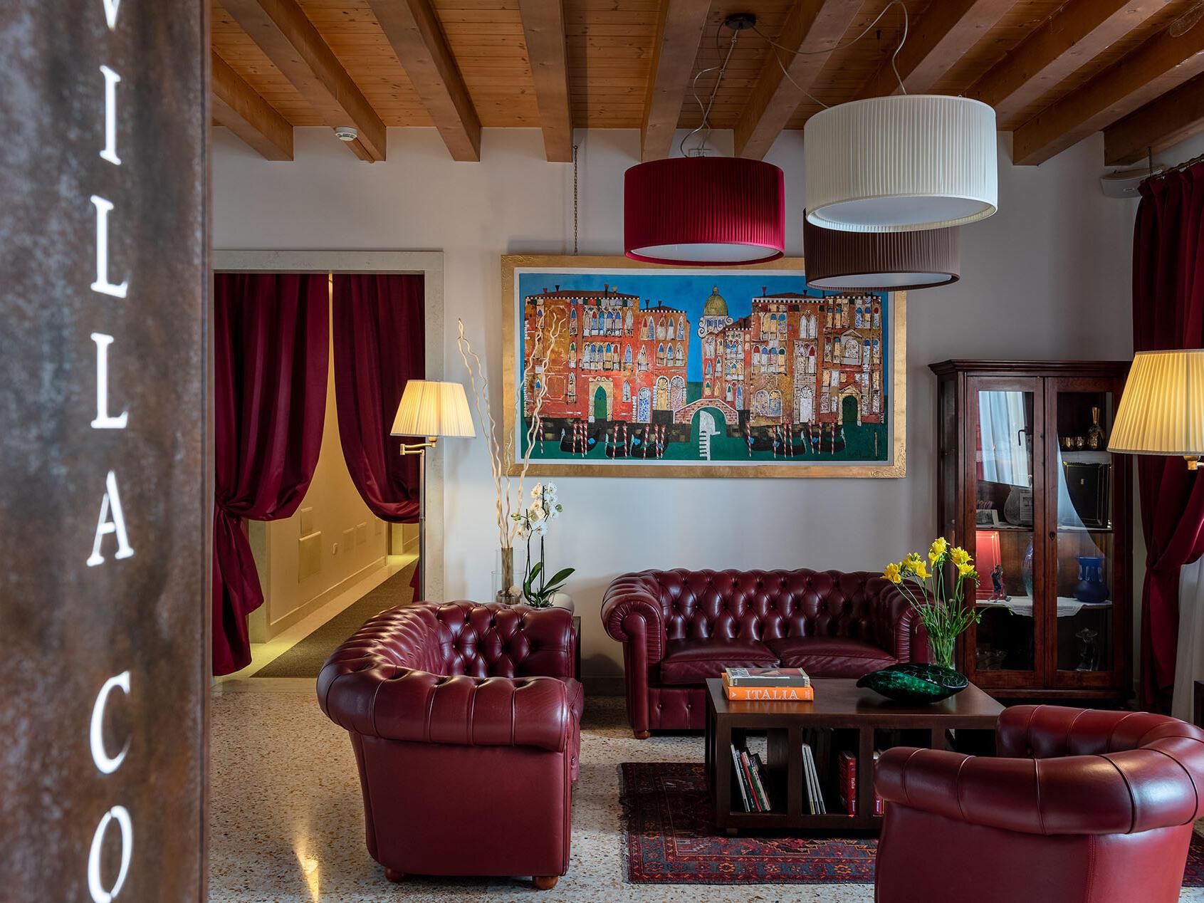 UUNAWAY Ecohotel Villa Costanza Venezia ti dà il benvenuto.