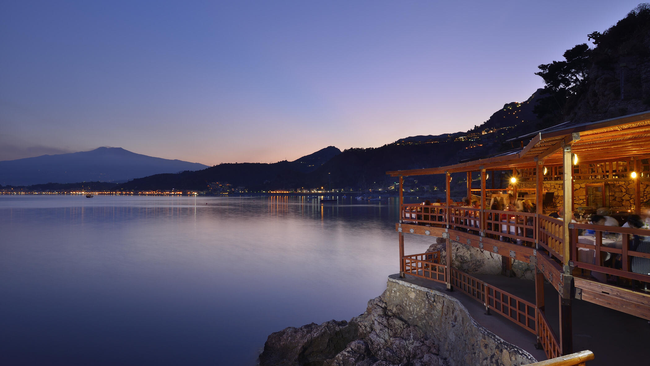 ristorante grand bleu scogliera taormina