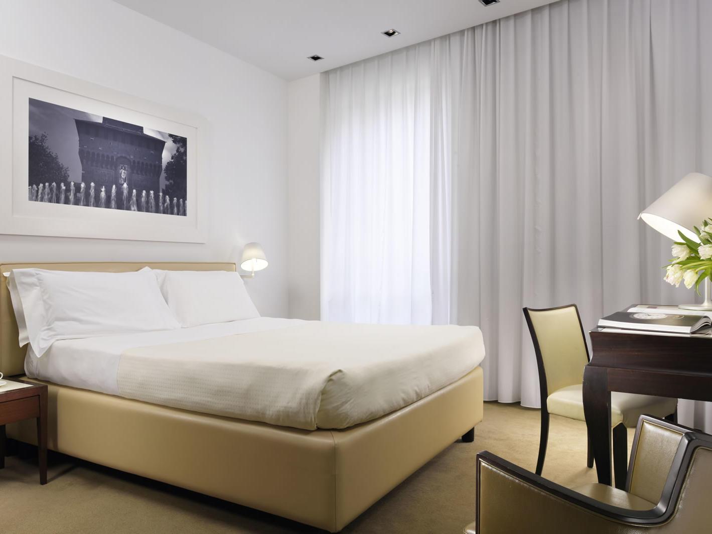 Room | UNAHOTELS Cusani Milano