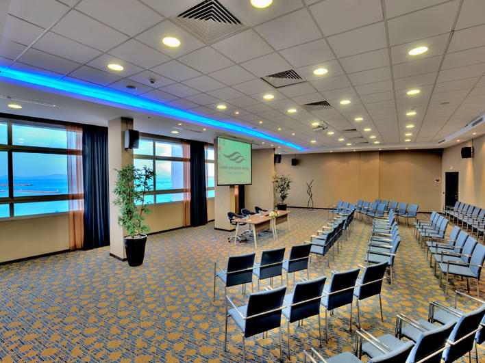 Event room at Kenzi Solazur Hotel in Tangier, Morocco
