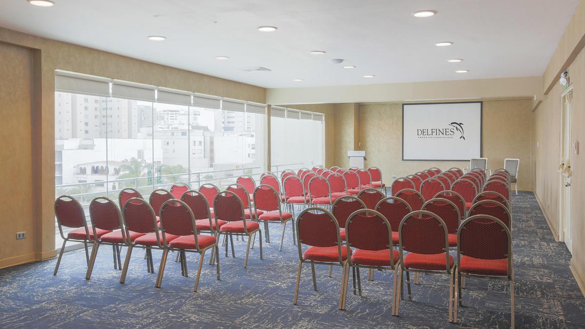 Atlantis meeting room - audience morning