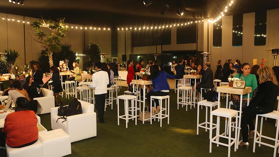 terrace - elegant cocktail event