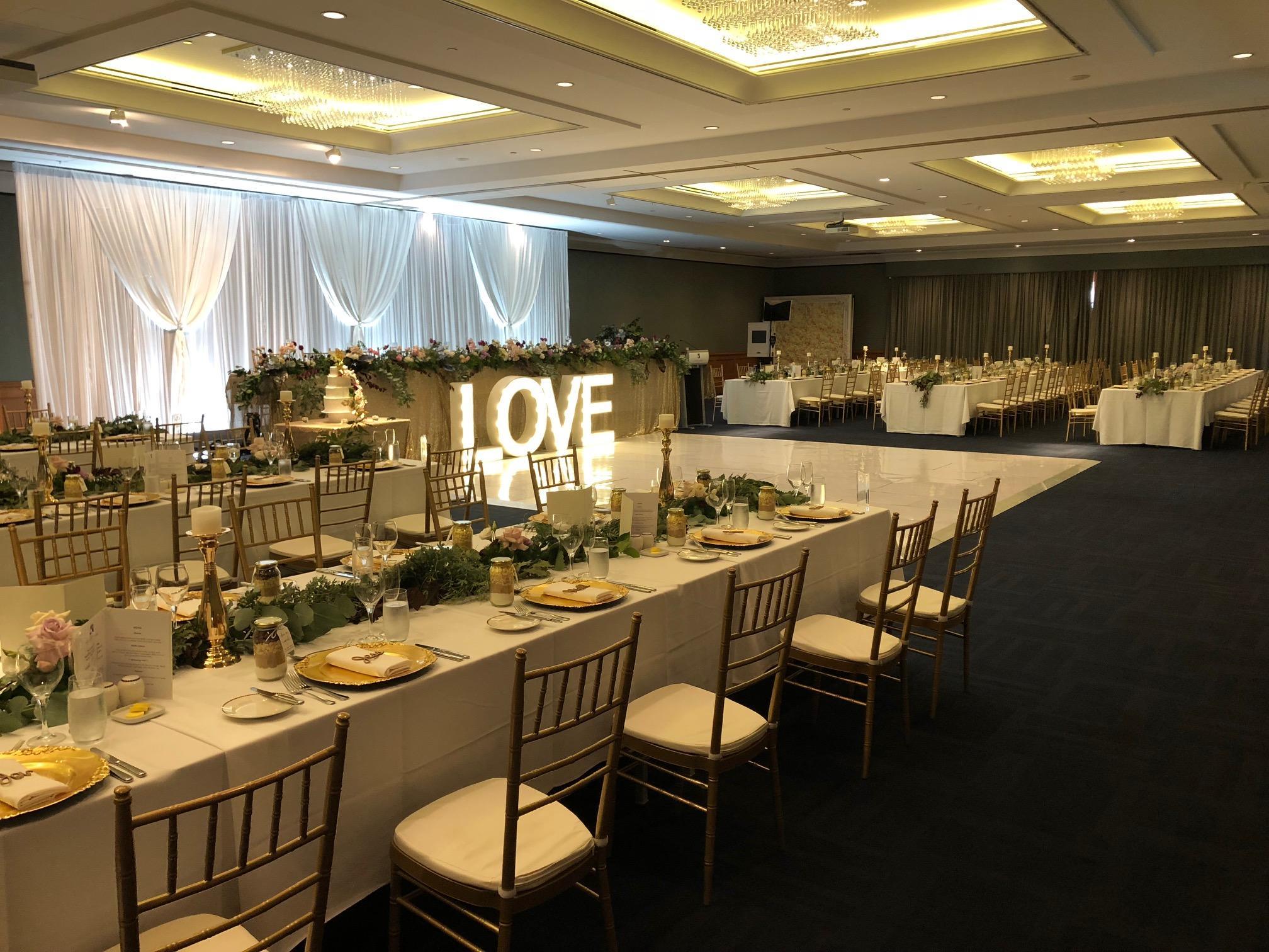 Wedding Hall  in Duxton Hotel Perth