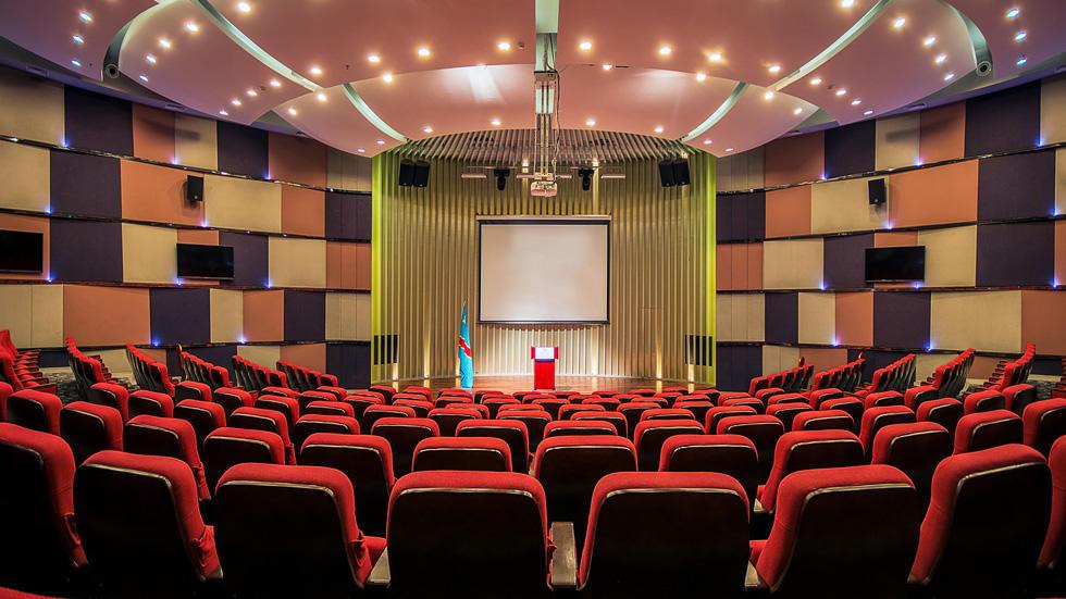 Auditorium at Fleuve Congo Hotel Hotel in Kinshasa