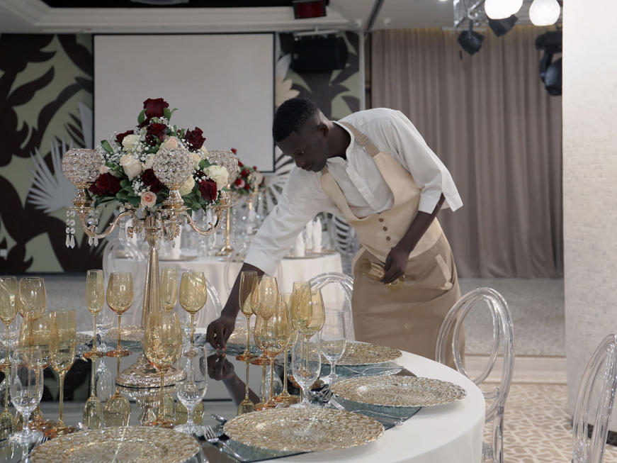 Wedding room at Fleuve Congo Hotel Hotel in Kinshasa