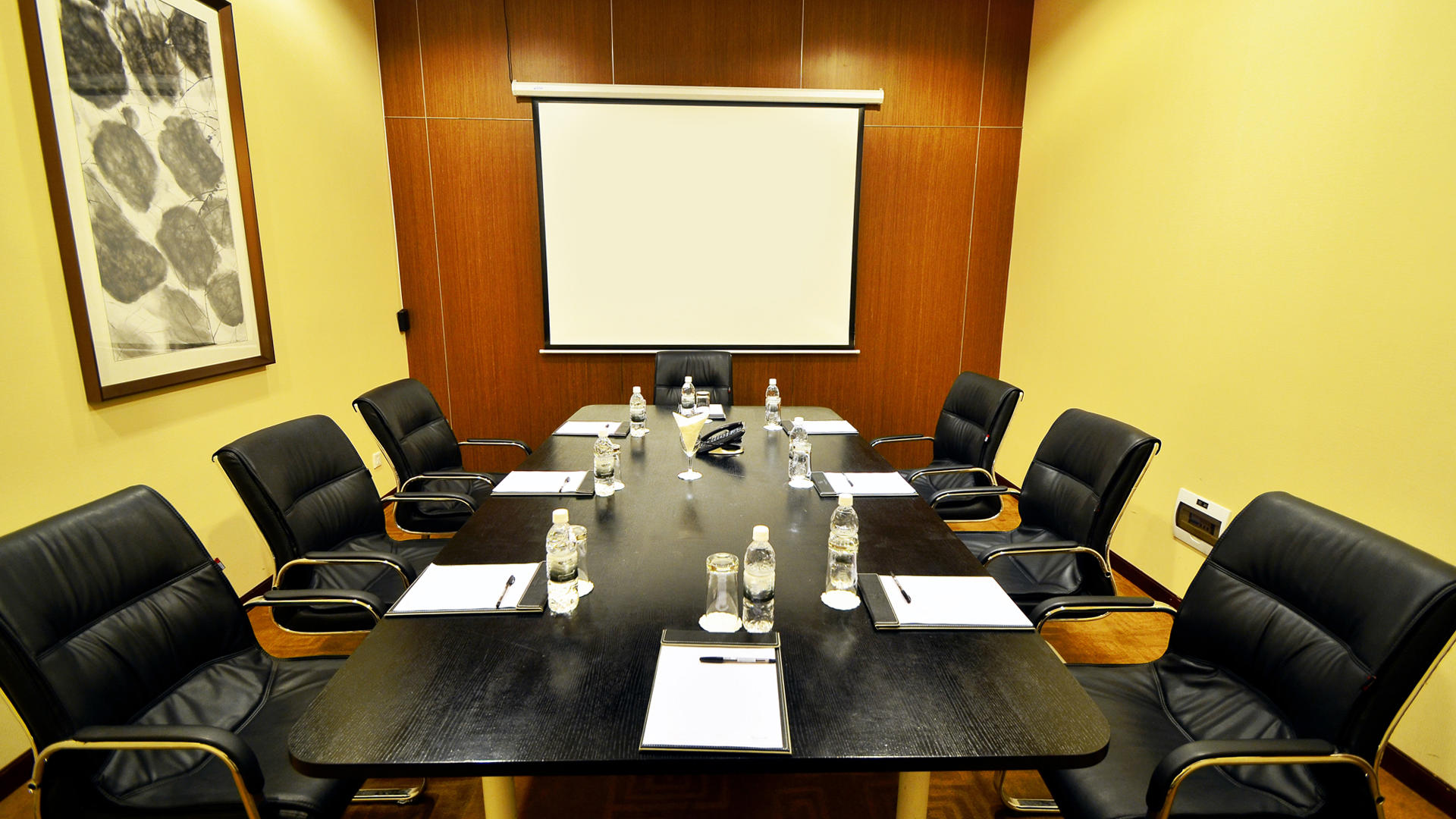 Meeting room at Fleuve Congo Hotel Hotel in Kinshasa