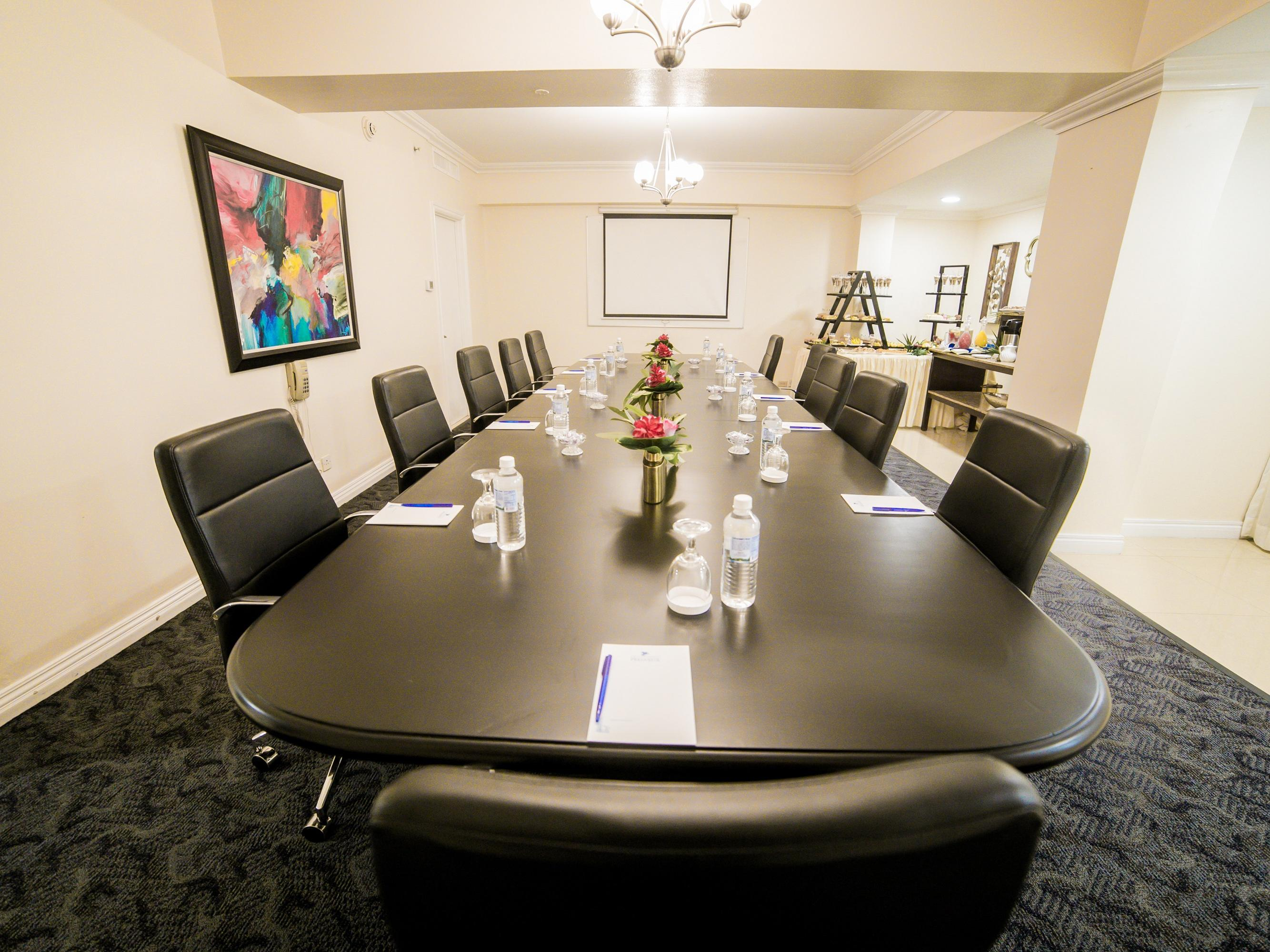 conference room oval table
