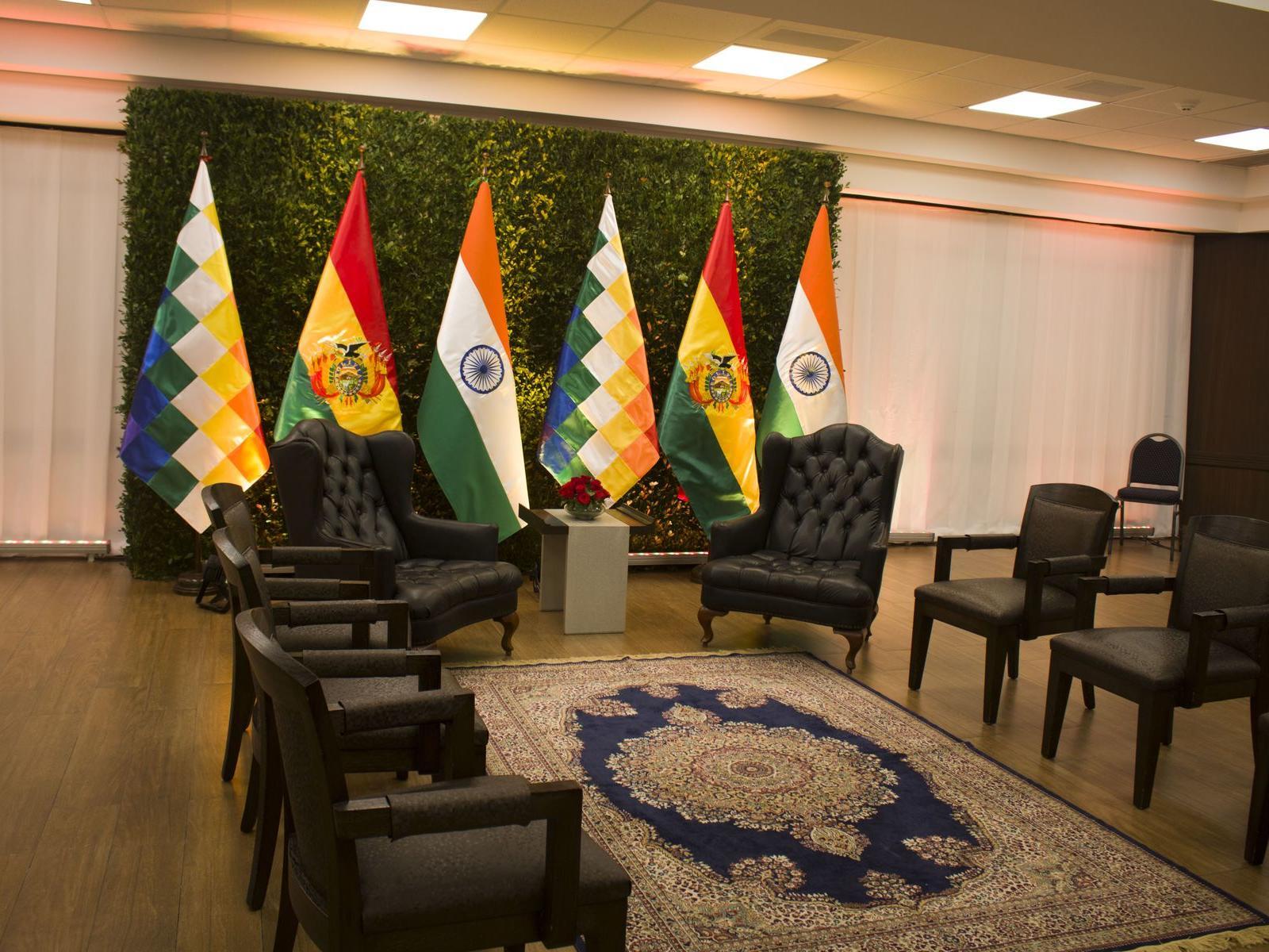 Diplomatic Room