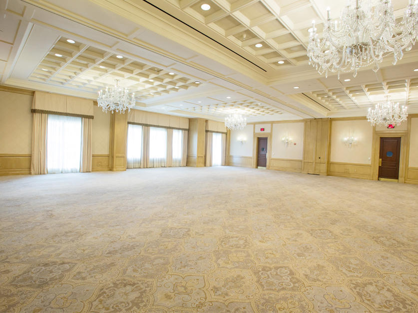 large ballroom event space