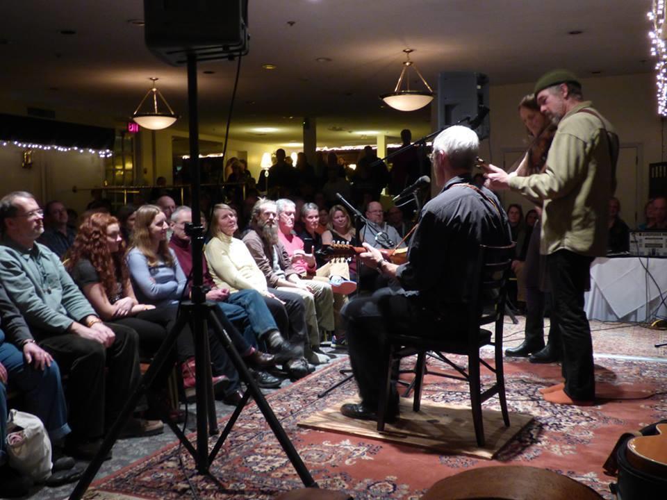 Bluegrass Concert in Banquet Hall