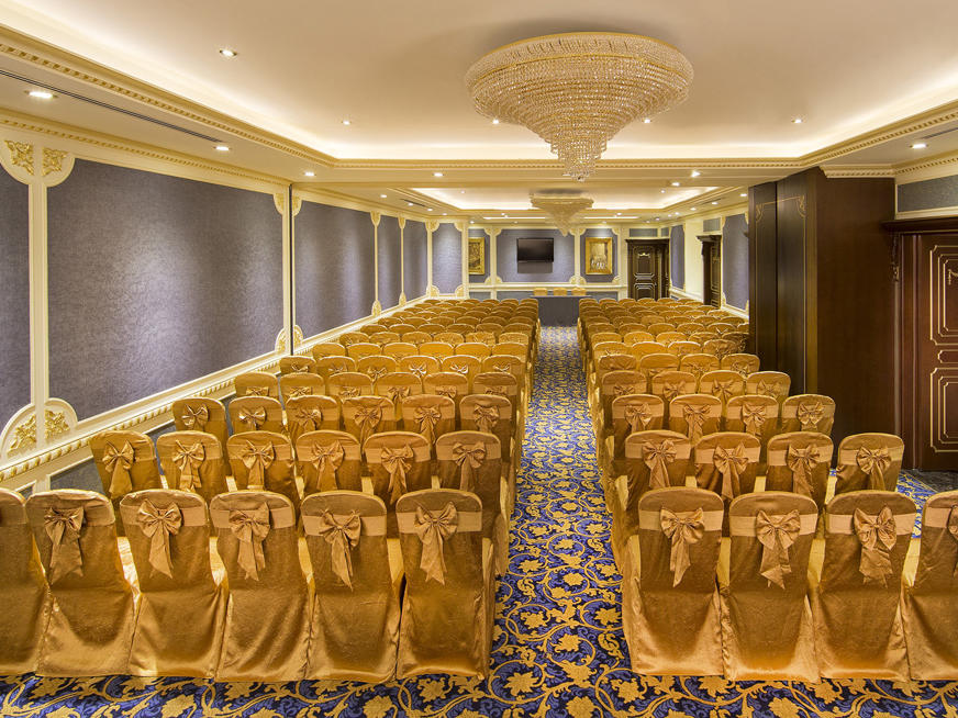 Yas Ballroom at Royal Rose Hotel in Abu Dhabi, UAE