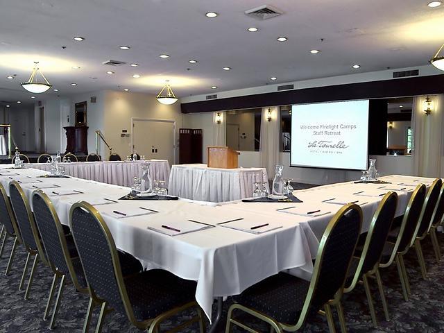 Business Meeting Setup, opposing angle